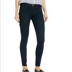 J brand midrise skinny leg jeans.